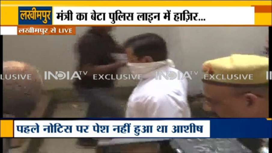 लखीमपुर मामले में आशीष मिश्रा से पूछताछ जारी,अंकित दास के ठिकानों पर पुलिस के छापे- India TV Hindi
