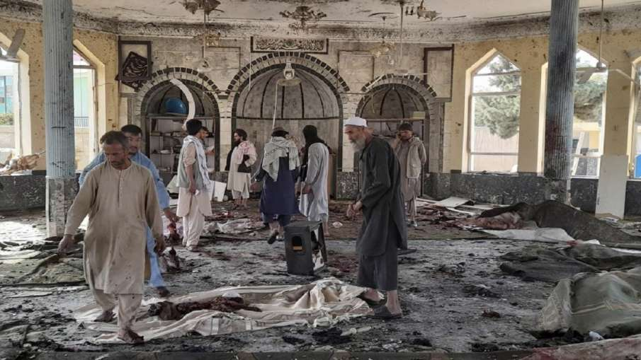 Afghanistan Blast: अफगानिस्तान में मस्जिद में विस्फोट, कई हताहत, प्रत्यक्षदर्शी ने बताया- India TV Hindi