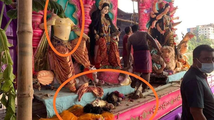 Durga Puja pandals Bangladesh, Hindu Temples Attacked in Bangladesh, Durga Puja Bangladesh- India TV Hindi