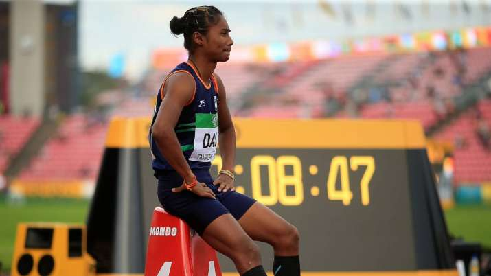 Hima Das infected with Kovid-19, tweeted information- India TV Hindi