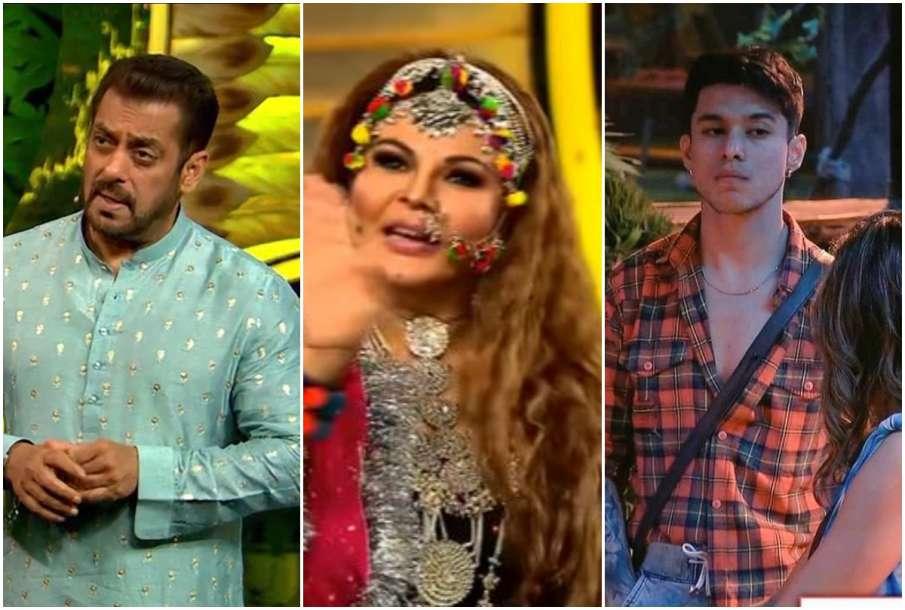 Salman Khan, Rakhi and Pratik Sehajpal- India TV Hindi