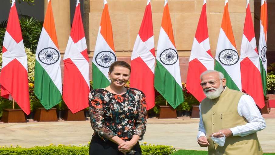 Danish PM Mette Frederiksen meets PM Narendra Modi India Denmark agreements bilateral relation भारत - India TV Hindi