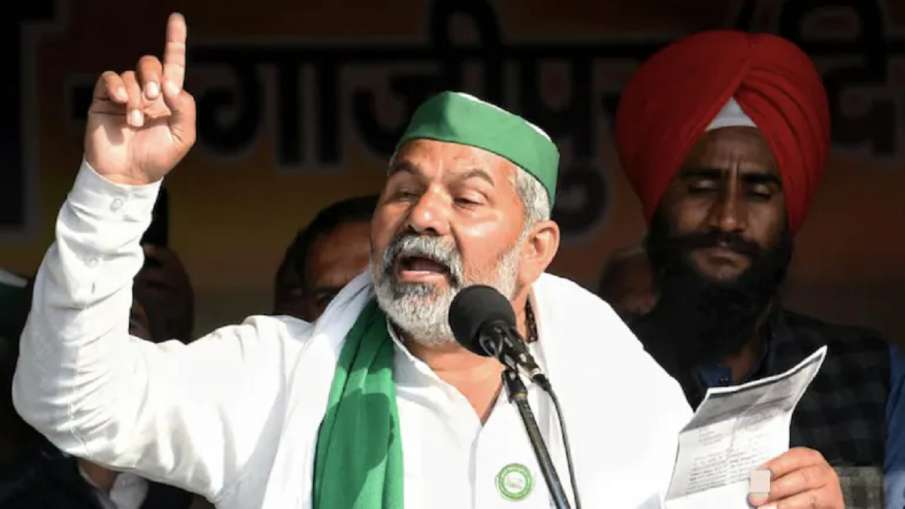 लखीमपुर में भाजपा कार्यकर्ताओं की हत्या, क्रिया के बदले की गई प्रतिक्रिया का नतीजा: राकेश टिकैत- India TV Hindi