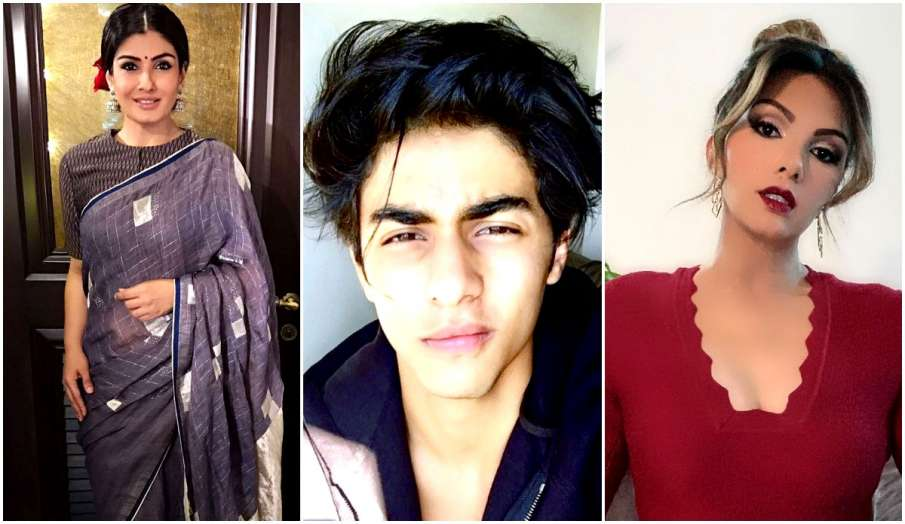 aryan khan raveena tandon somy ali mumbai cruise drug case latest news - India TV Hindi