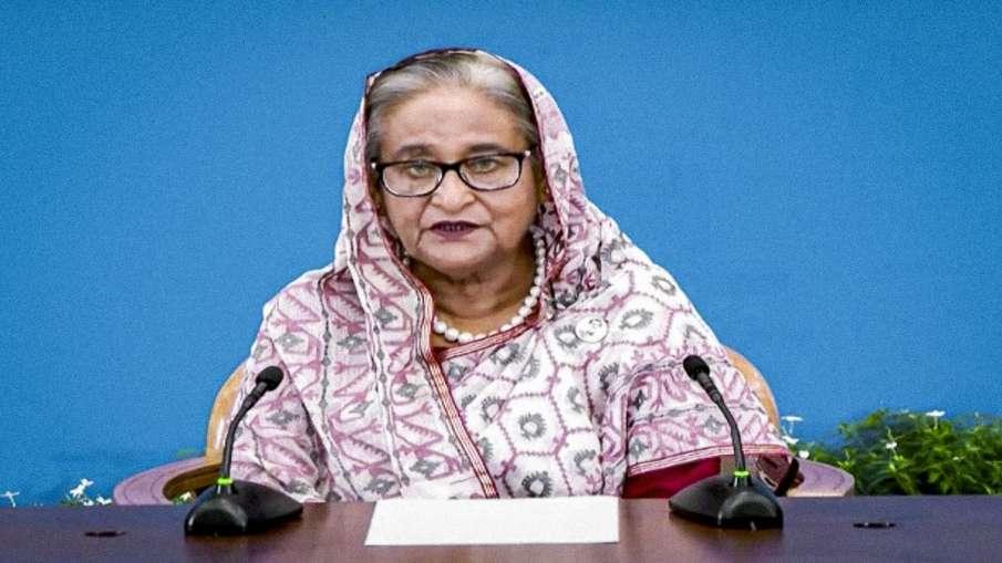 बांग्लादेश की पीएम शेख हसीना ने कहा-दुर्गा पंडालों पर हमला करनेवालों को बख्शा नहीं जाएगा- India TV Hindi