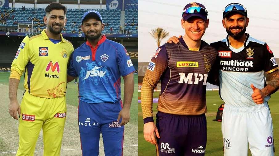 IPL 2021 playoff battle: Delhi will face Chennai, KKR will clash with RCB- India TV Hindi