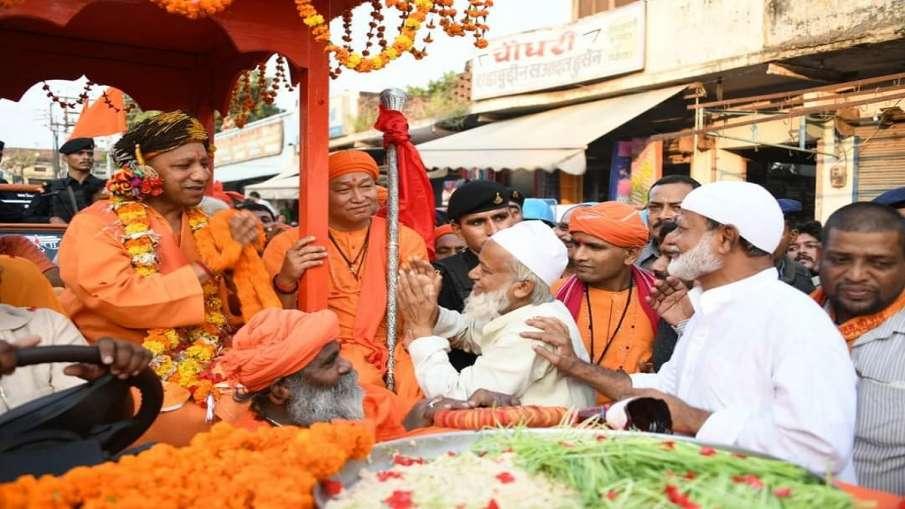 'Gorakshpeeth Vijaydashmi shobha yatra an example of social harmony'- India TV Hindi